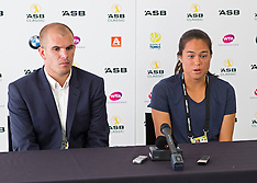 Auckland - Tennis - Jamie Hampton withdraws from ASB Classic