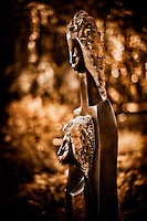 Zimsculpt at Van Dusen Botanical Garden: Proud of My Daugthter - springstone sculpture by Patrick Sephani (original sculpture available at www.zimsculpt.com)