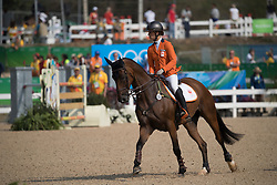 Blom Merel, NED, Rumour Has It<br /> Olympic Games Rio 2016<br /> © Hippo Foto - Dirk Caremans<br /> 09/08/16