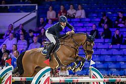 Maupiler Robinson, FRA, Curiano van Maarle Z<br /> Jumping Mechelen 2019<br /> © Hippo Foto - Martin Tandt<br />  27/12/2019
