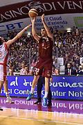 DESCRIZIONE : Venezia Lega A 2014-15 Umana Venezia-Grissin Bon Reggio Emilia  playoff Semifinale gara 5<br /> GIOCATORE :Viggiano Jeff<br /> CATEGORIA : Tiro Tre Punti <br /> SQUADRA : Umana Venezia<br /> EVENTO : LegaBasket Serie A Beko 2014/2015<br /> GARA : Umana Venezia-Grissin Bon Reggio Emilia playoff Semifinale gara 5<br /> DATA : 07/06/2015 <br /> SPORT : Pallacanestro <br /> AUTORE : Agenzia Ciamillo-Castoria /GiulioCiamillo<br /> Galleria : Lega Basket A 2014-2015 Fotonotizia : Reggio Emilia Lega A 2014-15 Umana Venezia-Grissin Bon Reggio Emilia playoff Semifinale gara 5<br /> Predefinita :