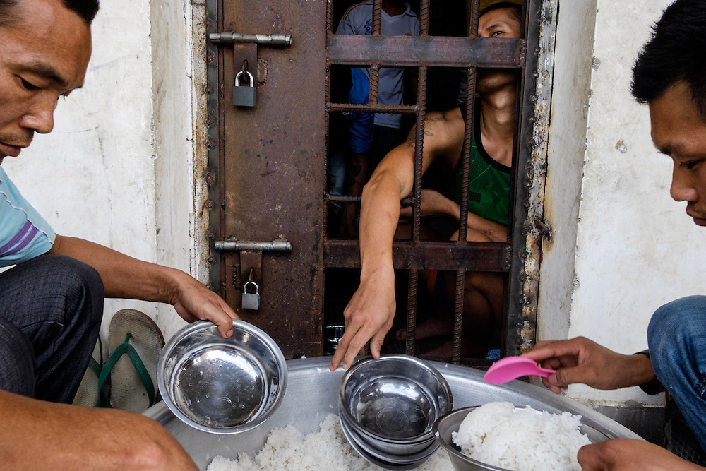 Mayjayang, Kachin State. Mayjayang  Rehab Center's guests spend their days  locked up. Guests of this Rehab Center  are not allowed to leave the rooms.