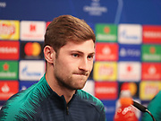 Ben Davies during the Tottenham Hotspur Press Conference at Signal Iduna Park, Dortmund, Germany on 4 March 2019.