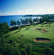 golf, Turtle Bay, Oahu, Hawaii<br />