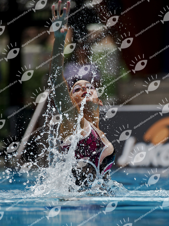 Busto Arsizio (VA) - Italy.CoMeN - Mediterranean Synchronised Swimming cup 2011.The international competition is reserved to athletes 14 years old or younger. 25 nations are taking part to the 2011 edition..Day 04 - Solo Final.Kassis Idan ISR.Photo G.Scala/Deepbluemedia.eu