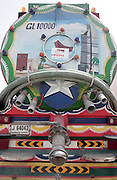 truck, art, truck art, painting, colour, dubai, sewage