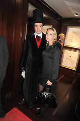 SEBASTIAN HORSLEY and LISA HILTON at a party to celebrate the publication of Catherine Blyth's book 'The Art of Conversation' held at Ralp Lauren, Bond Street, London on 4th November 2008.