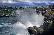 Crashing Waves at La Jolla Cove