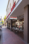 Watson's Soda Fountain & Cafe on E. Chapman Ave