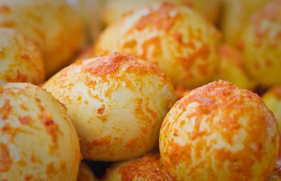 Indonesian Food Bazaar, Sambal Telur (hard boiled egg & chili)