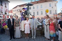 Medieval Wedding Ceremony, Tartu Hanseatic Days 2010, Estonia, Europe