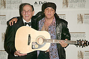 Hal David, Chairman/CEO Songwriters Hall of Fame with Steven Van Zandt at the 33rd Annual Songwriters Hall Of Fame Awards induction ceremony at The Sheraton New York Hotel in New York City. June 13 2002. <br /> Photo: Evan Agostini/PictureGroup