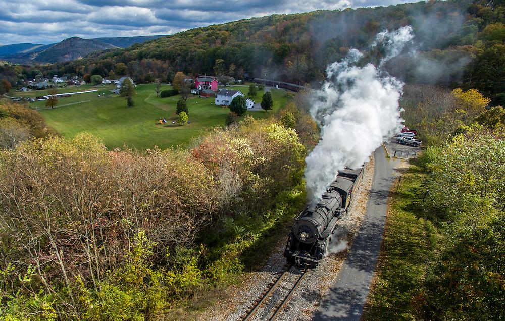 Scenic railroad in Cumberland, maryland