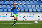 Forest Green Rovers Mark Roberts(21) warming up during the EFL Sky Bet League 2 match between Colchester United and Forest Green Rovers at the Weston Homes Community Stadium, Colchester, England on 26 August 2017. Photo by Shane Healey.