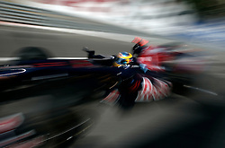 MONTE-CARLO, MONACO - Thursday, May 21, 2009: Mark Webber (AUS, Red Bull Racing) during practice for the Monaco Formula One Grand Prix at the Monte-Carlo Circuit. (Pic by Juergen Tap/Hoch Zwei/Propaganda)