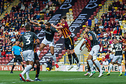 Paudie O'Connor of Bradford City effort on goal during the EFL Sky Bet League 2 match between Bradford City and Northampton Town at the Utilita Energy Stadium, Bradford, England on 7 September 2019.