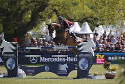Al Attiyah Hamad Ali Mohamed, (QAT), Appagino<br /> Longines Global Champions Tour - Grand Prix of Hamburg<br /> Hamburg - Hamburger Derby 2016<br /> © Hippo Foto - Stefan Lafrentz