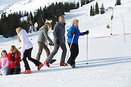 Lech, 23-02-2015<br /> <br /> <br /> Winter holiday photo session in Lech, Austria, with <br /> The Dutch Royal Family.King Willem-Alexander and Queen M&aacute;xima of the Netherlands and their daughters Princess Catharina-Amalia, Princess Alexia, Princess Ariane. <br /> <br /> <br /> <br /> Photo: Bernard Ruebsamen/Royalportraits Europe