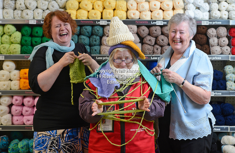 Scottish Women&rsquo;s Institute members are casting on to support the homeless this winter. <br /> A cosier winter is in sight for homeless people across Scotland this winter, thanks to the Scottish Women&rsquo;s Institutes (SWI) picking up their knitting needles and casting on in support of a national campaign to help make a difference to the lives of Big Issue vendors throughout the country.<br /> As Scotland&rsquo;s largest women&rsquo;s organisation, and with many members talented sewers and knitters, the SWI is throwing its weight behind The Big Issue Foundation&rsquo;s Big Knitathon and wants to ensure that this year&rsquo;s effort is the biggest and best to date.<br /> The women will be getting together to knit garments, raise funds and hold events, all of which will benefit homeless people in Scotland. And, in a powerful message to get others involved, they are providing two Big Knitters &ndash; knitting experts who will help promote the Big Knitathon by attending events, and answering knitting queries.<br /> <br /> As the leading ladies and resident &lsquo;Big Knitters&rsquo; for the campaign, mother and daughter Anne (73) and Jane Muirhead (47) are determined to  encourage all members &ndash; from novice to seasoned professional &ndash; to keep their knitting needles by their side for the month of November. <br /> The Big Knitathon is an annual campaign to encourage knitters across the country to create clothing for the vendors, sell the finished articles to raise funds, or hold fundraising events with all proceeds going to The Big Issue Foundation. Over the last three years over 2000 knitters have got their needles out for the Big Knitathon and raised over &pound;22,500 to support The Big Issue Foundation&rsquo;s work.<br /> <br />  Neil Hanna Photography<br /> www.neilhannaphotography.co.uk<br /> 07702 246823