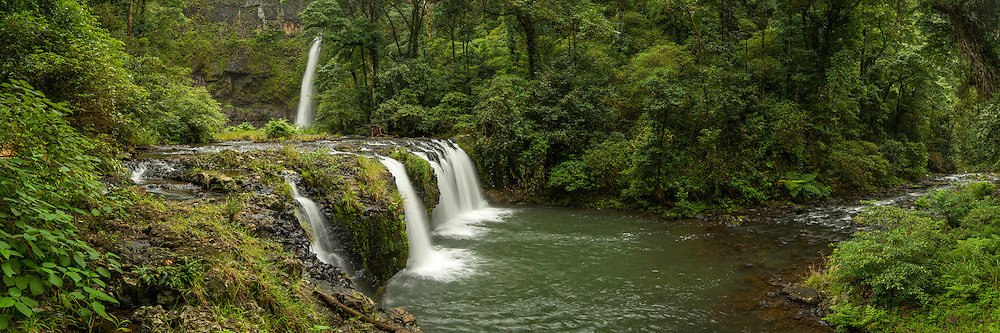 Nandroya falls located in the Atherton Tablelands, Queensland, Australia.
