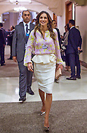 22.05.2015; Dead Sea, Jordan: QUEEN RANIA AND SON CROWN PRINCE HUSSEIN<br /> attend the World Economic Forum.<br /> Mandatory Photo Credit: &copy;RHC/NEWSPIX INTERNATIONAL<br /> <br /> **ALL FEES PAYABLE TO: &quot;NEWSPIX INTERNATIONAL&quot;**<br /> <br /> PHOTO CREDIT MANDATORY!!: NEWSPIX INTERNATIONAL(Failure to credit will incur a surcharge of 100% of reproduction fees)<br /> <br /> IMMEDIATE CONFIRMATION OF USAGE REQUIRED:<br /> Newspix International, 31 Chinnery Hill, Bishop's Stortford, ENGLAND CM23 3PS<br /> Tel:+441279 324672  ; Fax: +441279656877<br /> Mobile:  0777568 1153<br /> e-mail: info@newspixinternational.co.uk