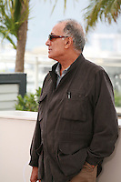 Iranian director Abbas Kiarostami at the photo call for the Cinéfondation at the 67th Cannes Film Festival, Thursday 22nd May 2014, Cannes, France.