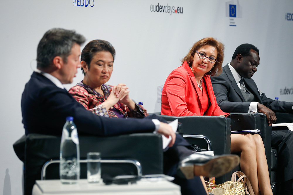04 June 2015 - Belgium - Brussels - European Development Days - EDD - Migration - Migration is development - Making migration a driver for development - Laura Thompson , Deputy Director General , International Organization for Migration (IOM) © European Union
