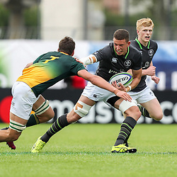 Aaron Hall of Ireland during the U20 World Championship match between Ireland and South Africa on June 3, 2018 in Narbonne, France. (Photo by Manuel Blondeau/Icon Sport)