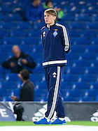 Serhiy Sydorchuk of Dynamo Kyiv   before the UEFA Champions League match at Stamford Bridge, London<br /> Picture by Alan Stanford/Focus Images Ltd +44 7915 056117<br /> 04/11/2015