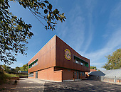 St Matthew's Primary School, High Brooms, Kent. Architect: Clay Architecture