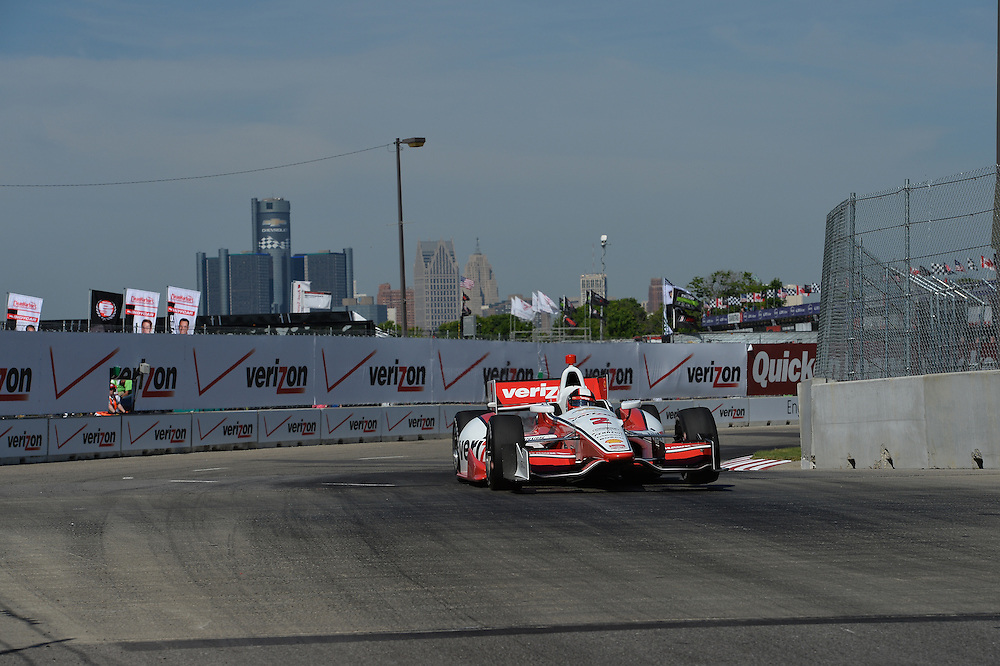 Juan Pablo Montoya, The Raceway at Belle Isle Park, Detroit, MI USA 6/1/2014
