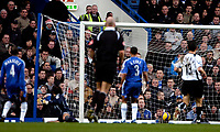 Photo: Ed Godden.<br />Chelsea v Fulham. The Barclays Premiership. 30/12/2006.<br />Fulham's Moritz Volz (out of picture) opens the scoring.