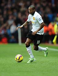 Manchester United's Ashley Young  - Photo mandatory by-line: Joe Meredith/JMP - Mobile: 07966 386802 - 20/12/2014 - SPORT - football - Birmingham - Villa Park - Aston Villa v Manchester United - Barclays Premier League