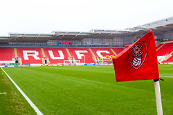 A general view of the Aesseal New York Stadium, home to Rotherham United - Mandatory by-line: Ryan Crockett/JMP - 26/01/2019 - FOOTBALL - Aesseal New York Stadium - Rotherham, England - Rotherham United v Leeds United - Sky Bet Championship
