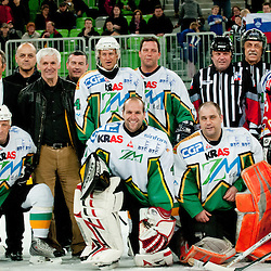 20120414: SLO, Ice Hockey - Legends of HDD Olimpija and HK Jesenice at friendly match