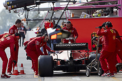 February 19, 2019 - Spain - Charles Leclerc (Scuderia Ferrari Mission Winnow) seen during the winter test days at the Circuit de Catalunya in Montmelo  (Credit Image: © Fernando Pidal/SOPA Images via ZUMA Wire)