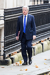 Downing Street, London, November 15th 2016.  Defence Secretary Michael Fallon arrives in Downing Street for the weekly cabinet meeting.