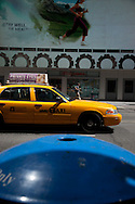 New York Times square, 42nd street , traffic and colors