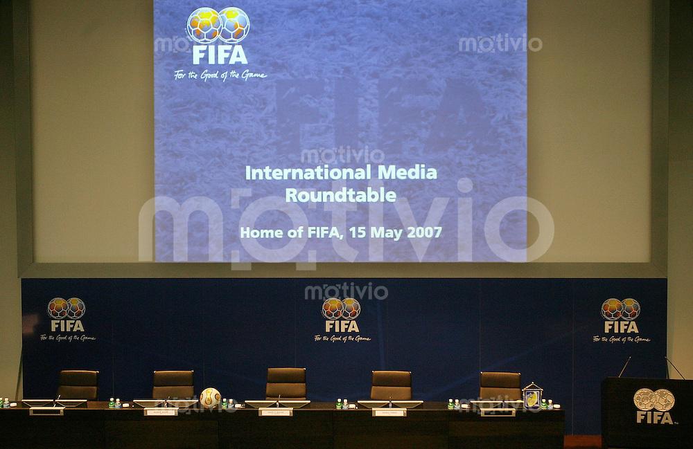 Fussball International FIFA Roundtable  Auditorium