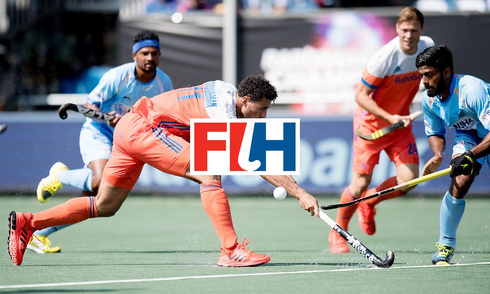 BREDA - Rabobank Hockey Champions Trophy<br /> The Netherlands - India<br /> Photo: Glenn Schuurman.<br /> COPYRIGHT WORLDSPORTPICS FRANK UIJLENBROEK