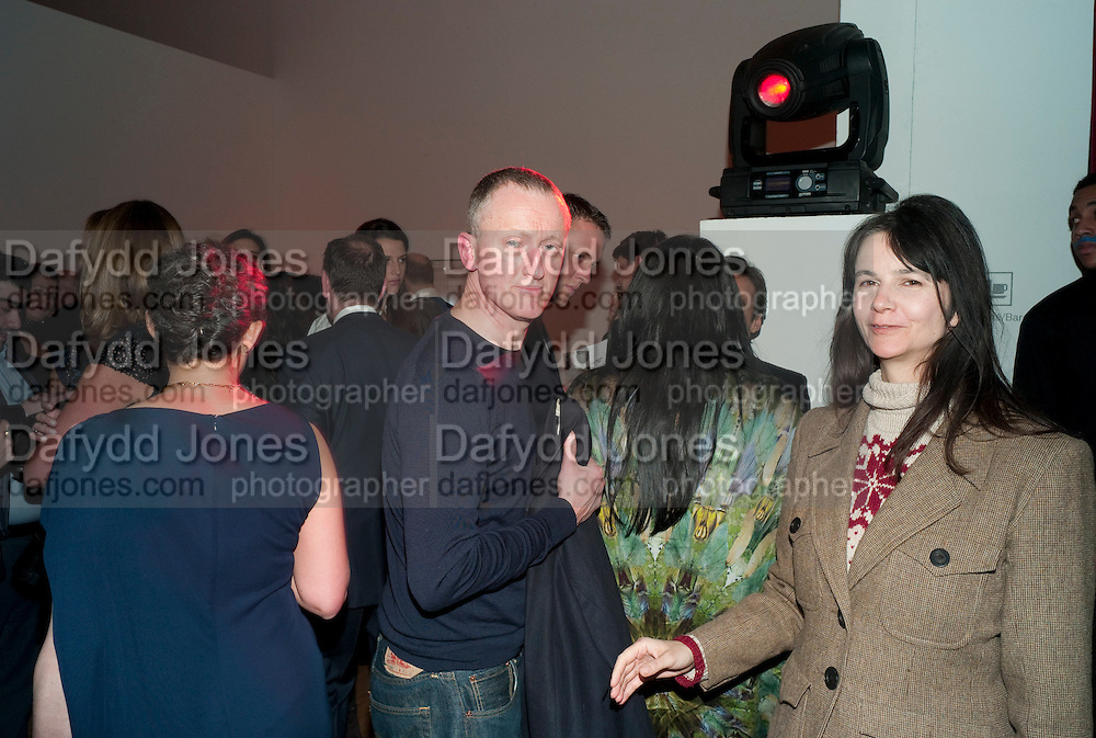 MICHAEL LANDY; GILLIAN WEARING, TODÕS Art Plus Drama Party 2011. Whitechapel GalleryÕs annual fundraising party in partnership. Whitechapel Gallery. London. 24 March 2011.  with TODÕS and supported by HarperÕs Bazaar-DO NOT ARCHIVE-© Copyright Photograph by Dafydd Jones. 248 Clapham Rd. London SW9 0PZ. Tel 0207 820 0771. www.dafjones.com.<br /> MICHAEL LANDY; GILLIAN WEARING, TOD'S Art Plus Drama Party 2011. Whitechapel Gallery's annual fundraising party in partnership. Whitechapel Gallery. London. 24 March 2011.  with TOD'S and supported by Harper's Bazaar-DO NOT ARCHIVE-© Copyright Photograph by Dafydd Jones. 248 Clapham Rd. London SW9 0PZ. Tel 0207 820 0771. www.dafjones.com.