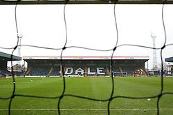 A general view of Spotland Stadium - Mandatory byline: Matt McNulty/JMP - 06/12/2015 - Football - Spotland Stadium - Rochdale, England - Rochdale v Bury - FA Cup
