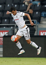 22.07.2015, UPC Arena, Graz, AUT, Testspiel, SK Sturm Graz vs Besiktas Istanbul, Testspiel, im Bild Mustafa Pektemek (Besiktas Istanbul) // during a international friendly football match between SK Sturm Graz and Besiktas Istanbul at the UPC Arena, Graz, Austria on 2015/07/22, EXPA Pictures © 2015, PhotoCredit: EXPA/ Erwin Scheriau