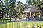 Gazebo at George Washington Park in Anaheim