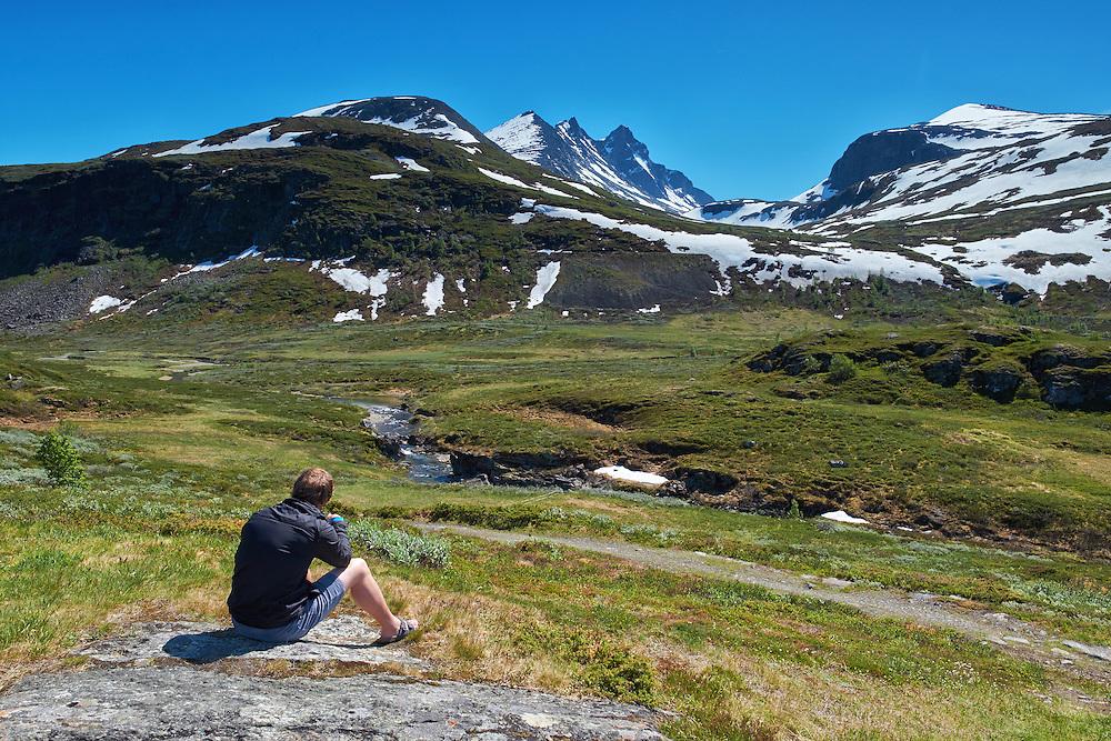 Norway - Sogn og Fjordane - Jotunheimen - Fortun - Hurrungane Mountain Range