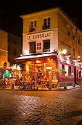 Le Consulat Restaurant, Montmartre, Paris, France