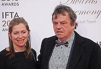 Brenda Rawn and Director and writer Neil Jordan at the IFTA Film & Drama Awards (The Irish Film & Television Academy) at the Mansion House in Dublin, Ireland, Saturday 9th April 2016. Photographer: Doreen Kennedy