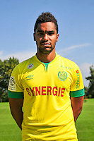 Djidji KOFFI - 15.09.2014 - Photo officielle Nantes - Ligue 1 2014/2015<br /> Photo : Philippe Le Brech / Icon Sport