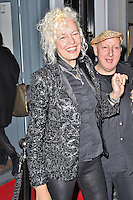 LONDON - December 18: Ellen Von Unwerth & Stephen Jones at the Snow Queen Vodka 2013 - Calendar Launch Party (Photo by Brett D. Cove)