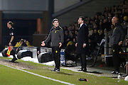 *** during the EFL Sky Bet Championship match between Burton Albion and Fulham at the Pirelli Stadium, Burton upon Trent, England on 1st February 2017. Photo by Richard Holmes.